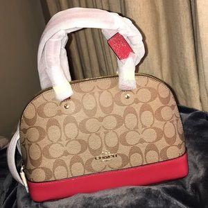 Brand new mini coach bag